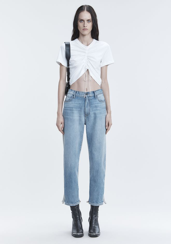 ALEXANDER WANG denim-x-aw RIDE CLASH JEAN