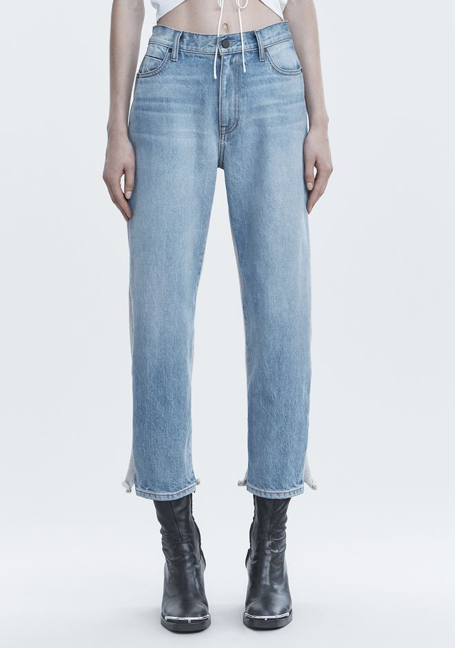 ALEXANDER WANG RIDE CLASH JEAN DENIM Adult 12_n_a