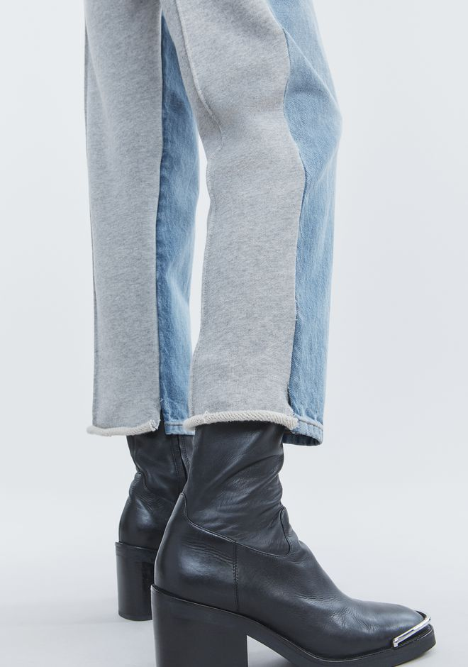 ALEXANDER WANG RIDE CLASH JEAN DENIM Adult 12_n_r