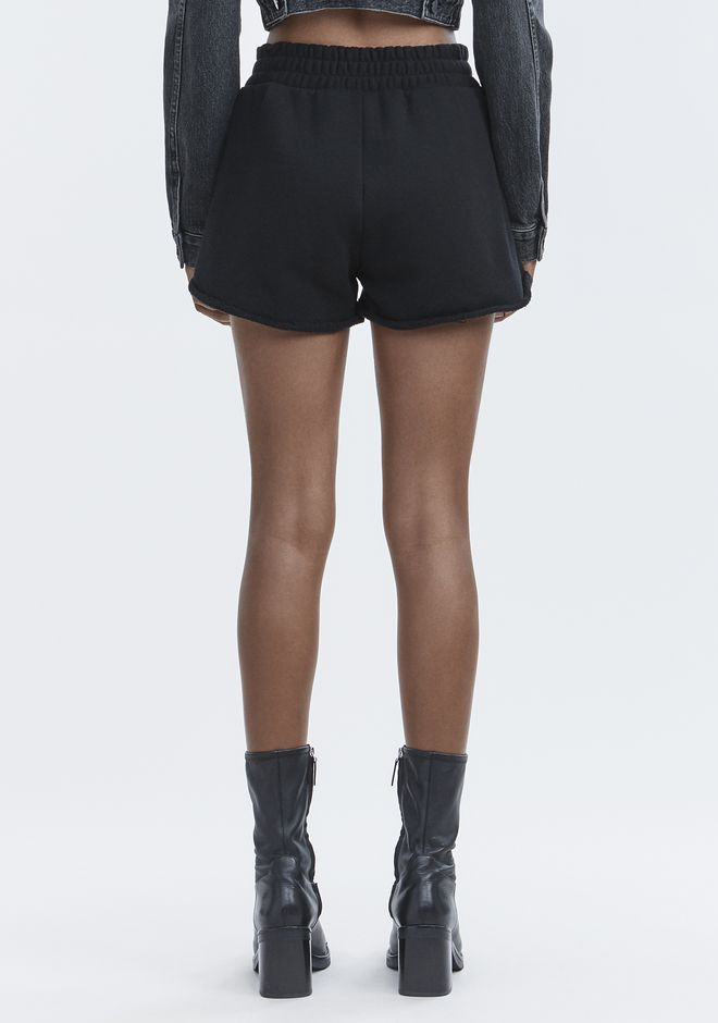 ALEXANDER WANG BITE CLASH CUT-OFF SHORTS DENIM Adult 12_n_d
