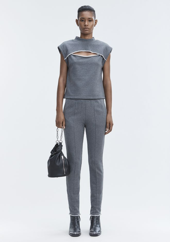 T by ALEXANDER WANG sltbbtm PINTUCK PANTS