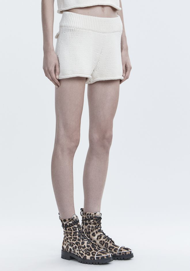 T by ALEXANDER WANG SHORTS KNIT SHORTS