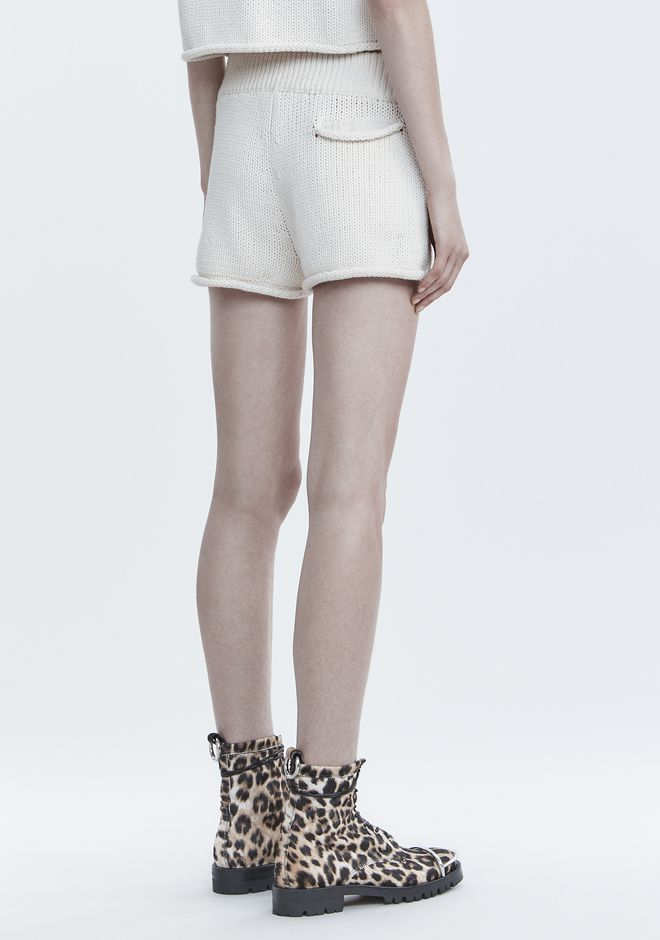 T by ALEXANDER WANG KNIT SHORTS 短裤 Adult 12_n_a