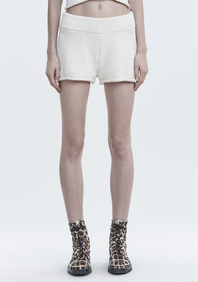 T by ALEXANDER WANG KNIT SHORTS 短裤 Adult 12_n_d