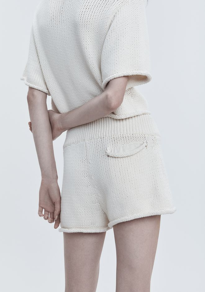 T by ALEXANDER WANG KNIT SHORTS 短裤 Adult 12_n_r