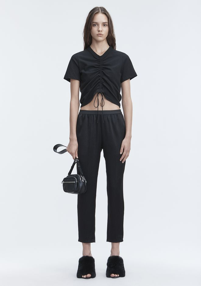 T by ALEXANDER WANG classic-bottoms WASH & GO PANTS