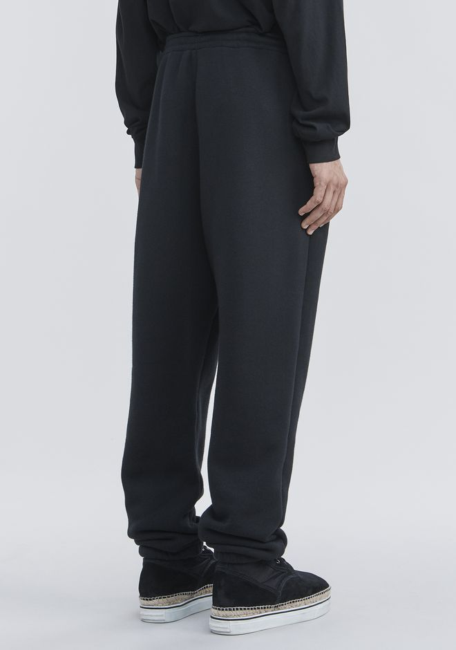ALEXANDER WANG FLEECE SWEATPANTS PANTS Adult 12_n_a
