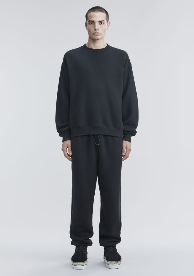 ALEXANDER WANG FLEECE SWEATPANTS PANTS Adult 12_n_f