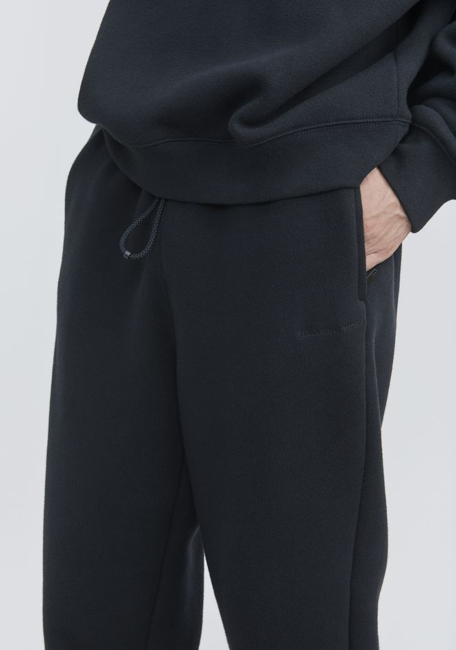 ALEXANDER WANG FLEECE SWEATPANTS PANTS Adult 12_n_r