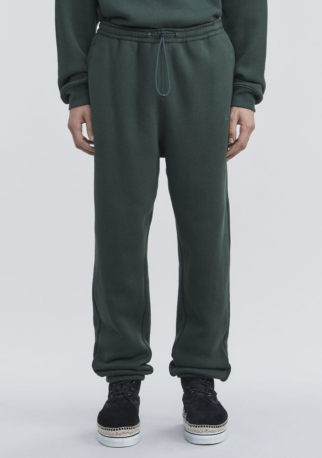 ALEXANDER WANG FLEECE SWEATPANTS PANTS Adult 12_n_d