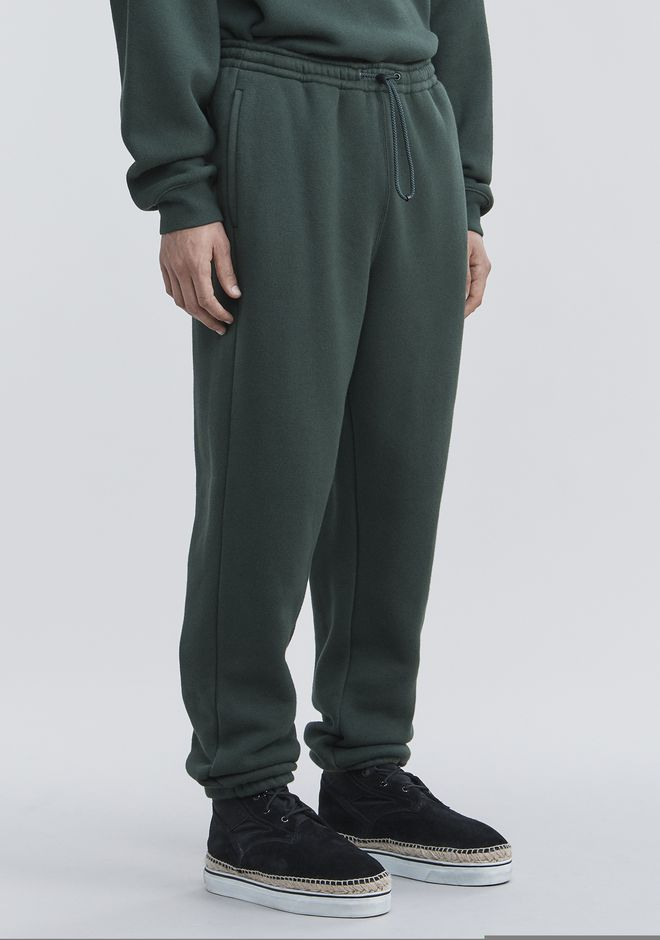ALEXANDER WANG FLEECE SWEATPANTS PANTS Adult 12_n_e