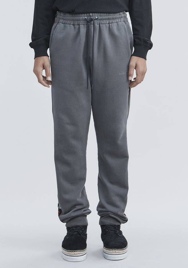 ALEXANDER WANG BOLO FLEECE SWEATPANTS PANTS Adult 12_n_d