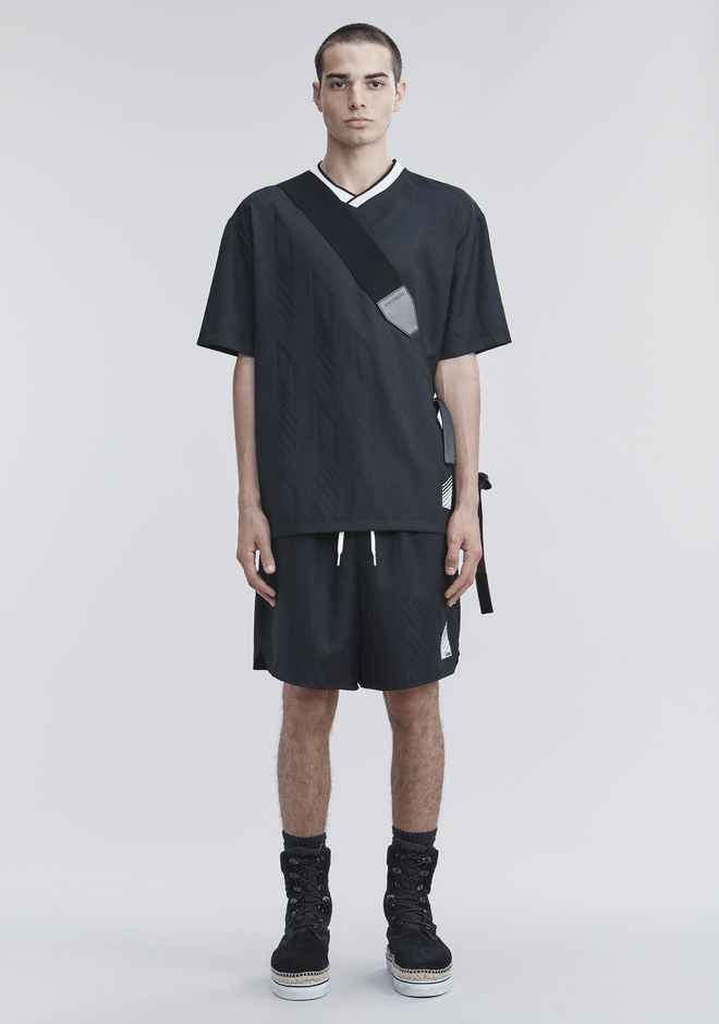 ALEXANDER WANG SHORTS Men WOOL SOCCER SHORTS