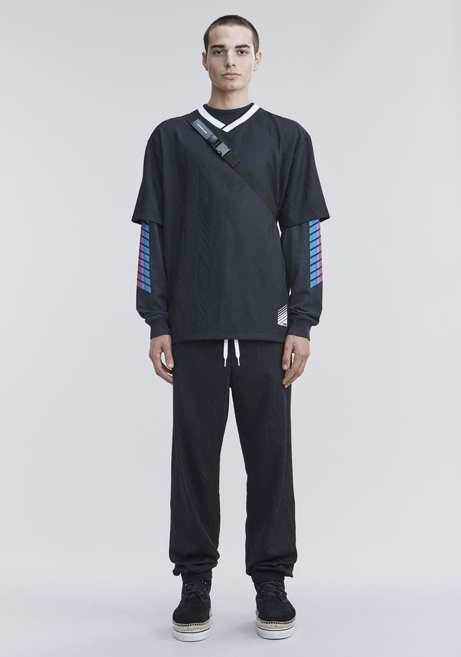 ALEXANDER WANG PANTS Men WOOL TRACK PANTS