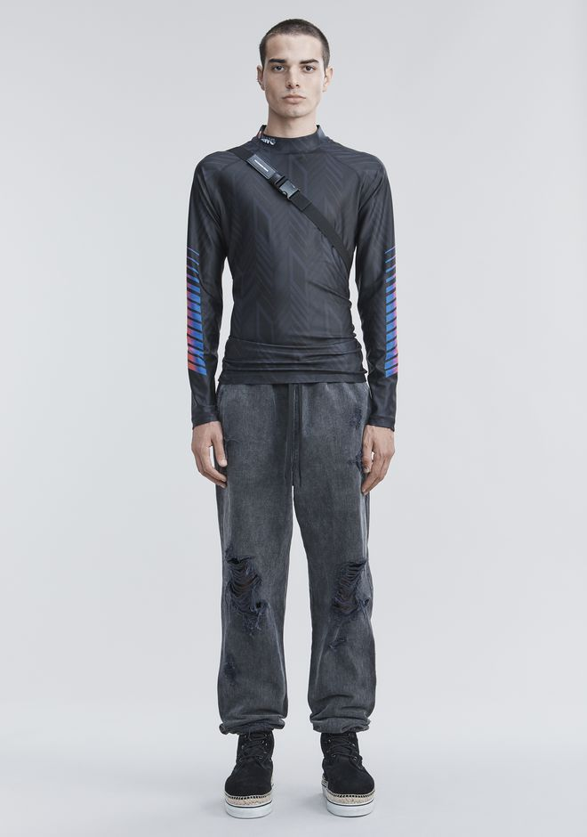 ALEXANDER WANG slbttmmn DENIM CHEF PANTS