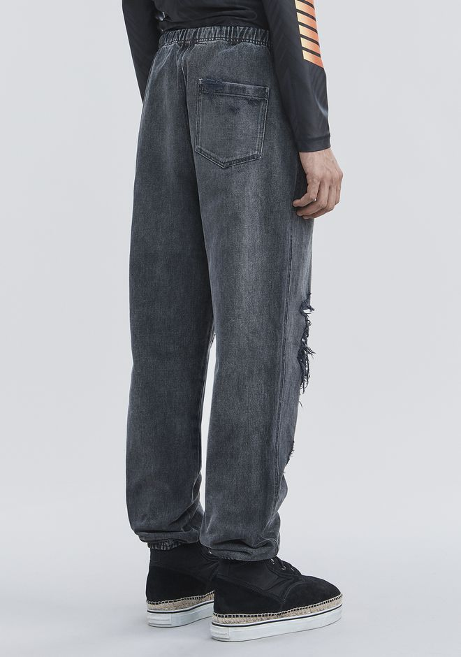 ALEXANDER WANG DENIM CHEF PANTS PANTS Adult 12_n_a
