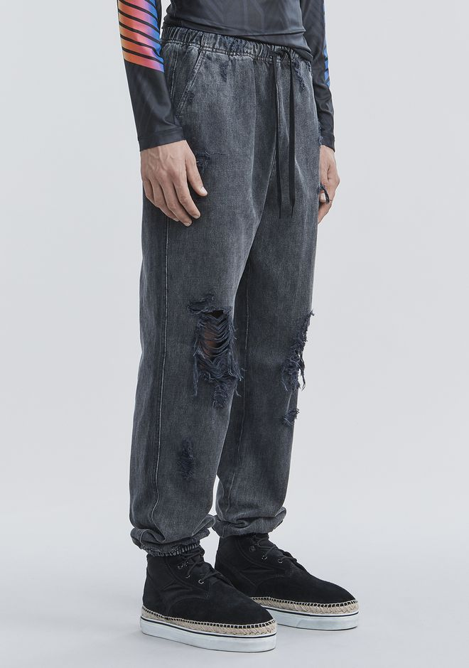 ALEXANDER WANG DENIM CHEF PANTS PANTS Adult 12_n_e