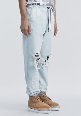 DENIM CHEF PANTS