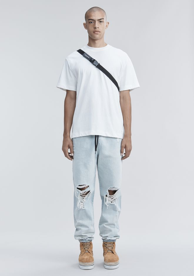 ALEXANDER WANG PANTS Men DENIM CHEF PANTS