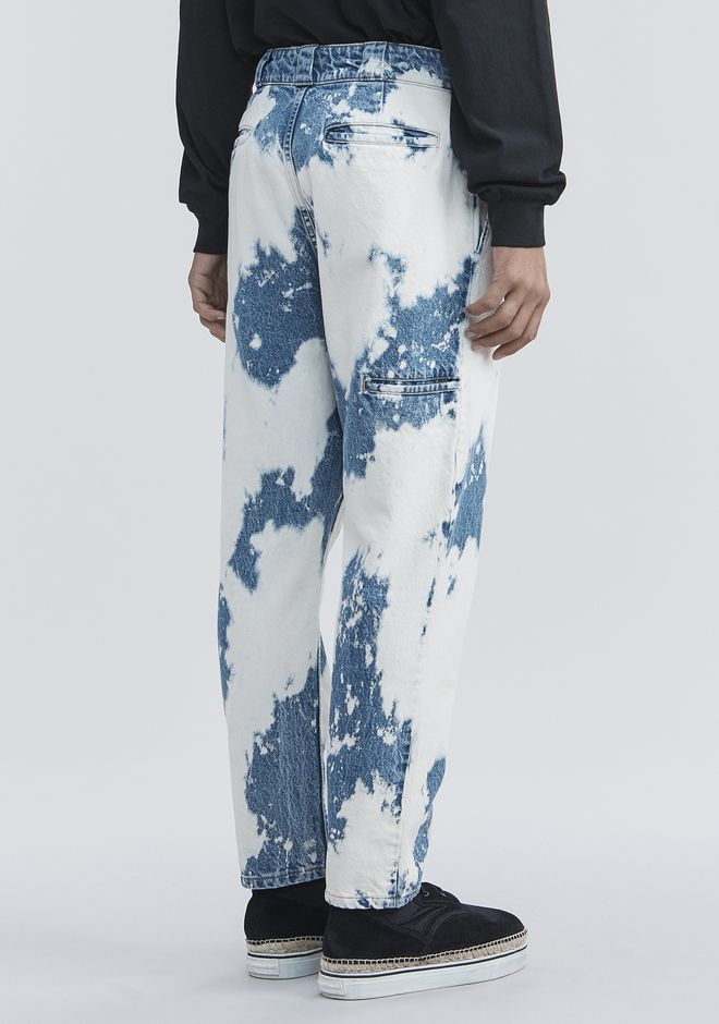 ALEXANDER WANG BLEACHED DENIM PANTS 팬츠 Adult 12_n_a
