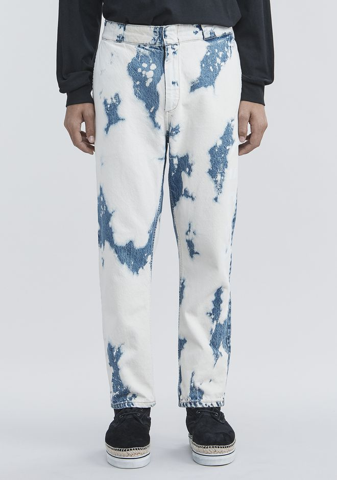 ALEXANDER WANG BLEACHED DENIM PANTS 팬츠 Adult 12_n_d
