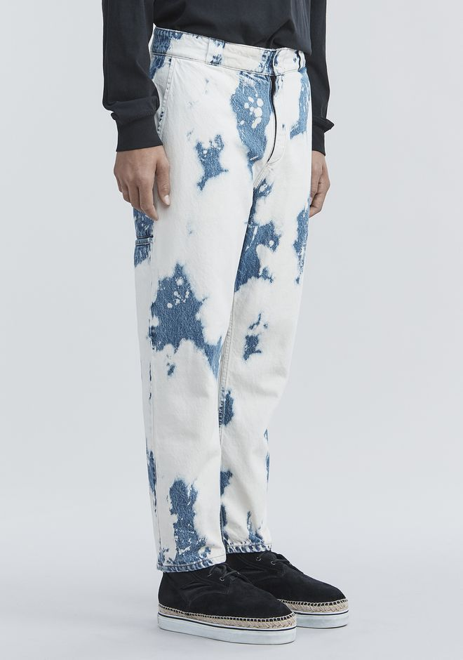 ALEXANDER WANG BLEACHED DENIM PANTS 팬츠 Adult 12_n_e