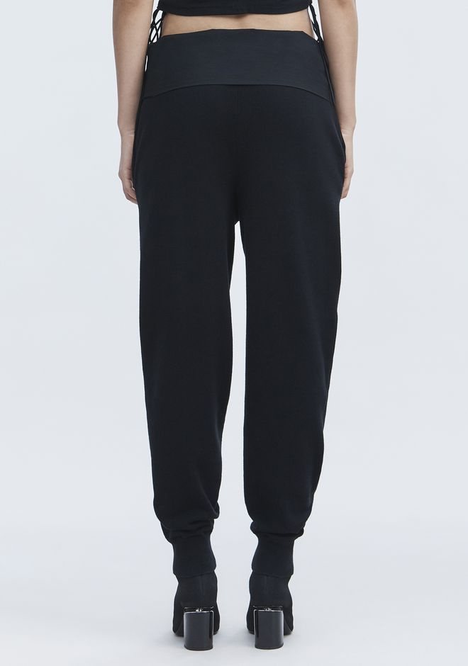 T by ALEXANDER WANG KNIT PANTS PANTS Adult 12_n_r