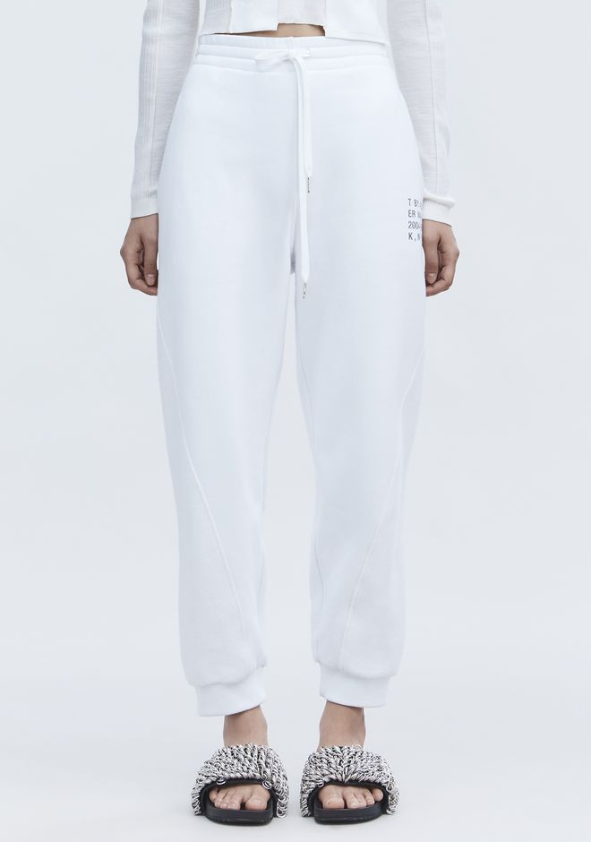 T by ALEXANDER WANG FLEECE SWEATPANTS パンツ Adult 12_n_d
