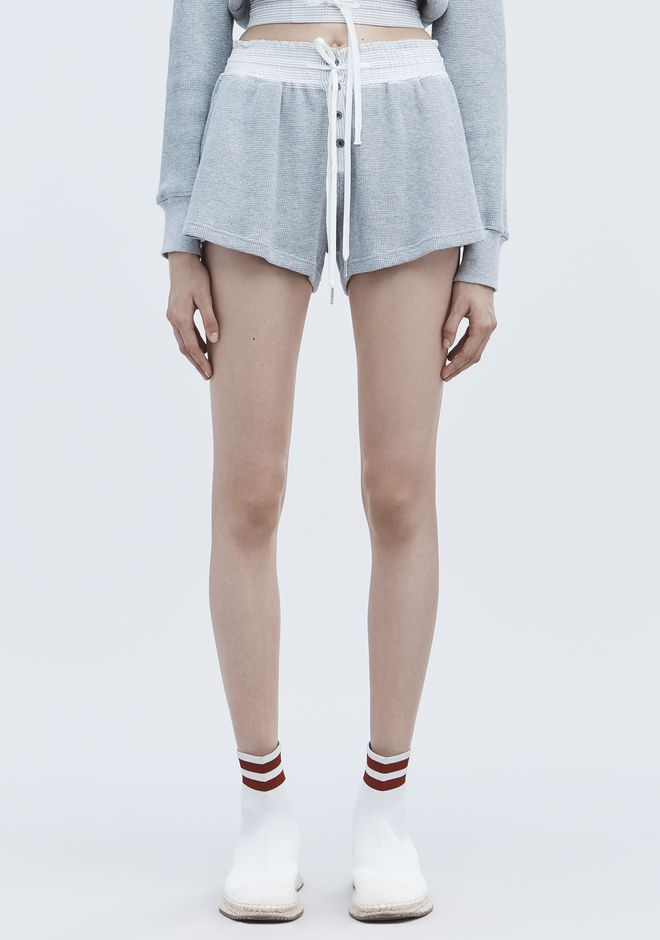 T by ALEXANDER WANG WAFFLE GYM SHORTS ショートパンツ Adult 12_n_d