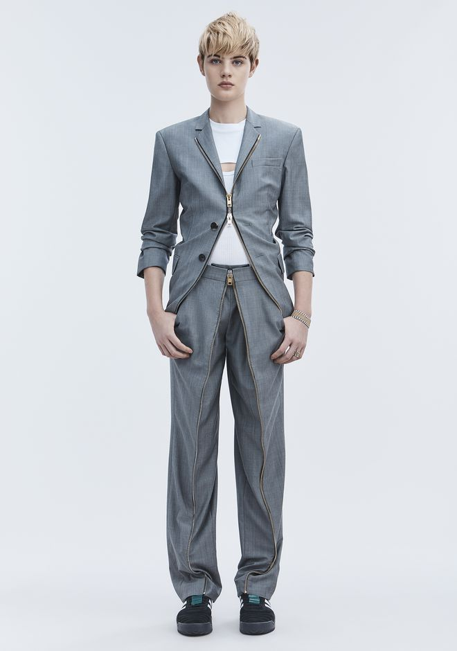 ALEXANDER WANG slrtwbtm DECONSTRUCTED MEN'S TROUSER