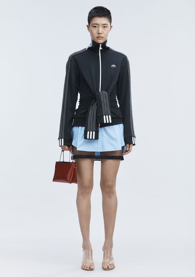 ALEXANDER WANG EXCLUSIVE DECONSTRUCTED SKIRT  Skirt/DEL Adult 12_n_f