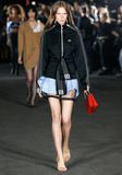 ALEXANDER WANG EXCLUSIVE DECONSTRUCTED SKIRT  Skirt/DEL Adult 8_n_a