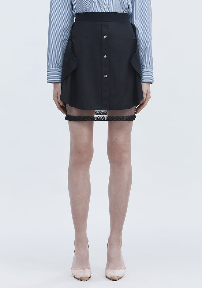 ALEXANDER WANG DECONSTRUCTED SKIRT  半裙 Adult 12_n_d