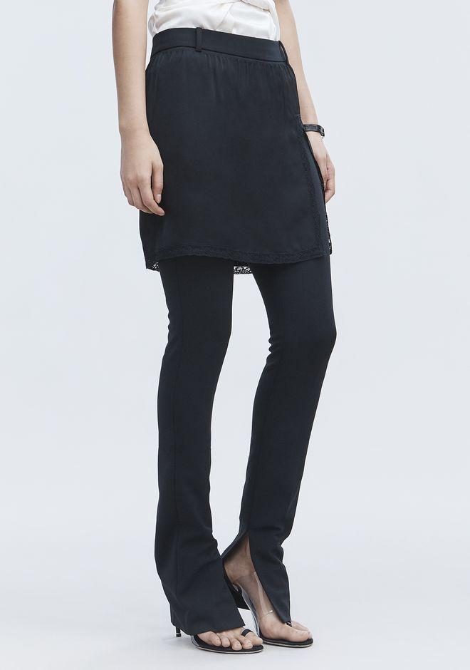 ALEXANDER WANG SLIP SKIRT HYBRID PANTS PANTS Adult 12_n_e