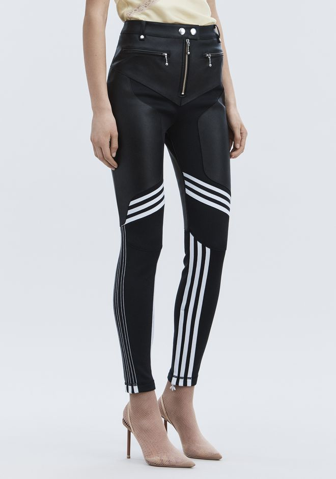 ALEXANDER WANG ADIDAS ORIGINALS BY AW LEATHER PANTS  PANTS Adult 12_n_a