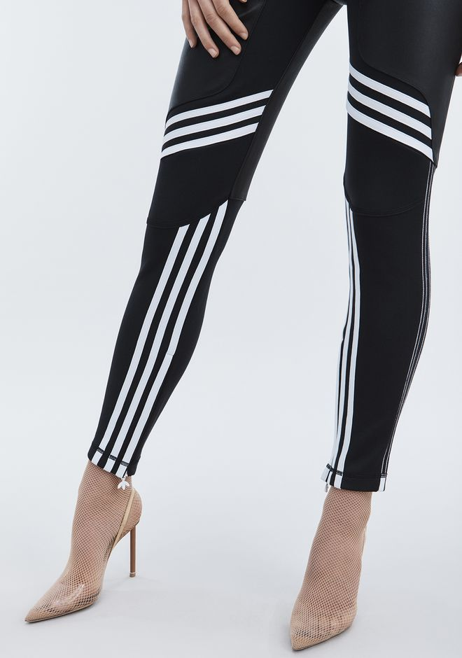 ALEXANDER WANG ADIDAS ORIGINALS BY AW LEATHER PANTS  PANTS Adult 12_n_e