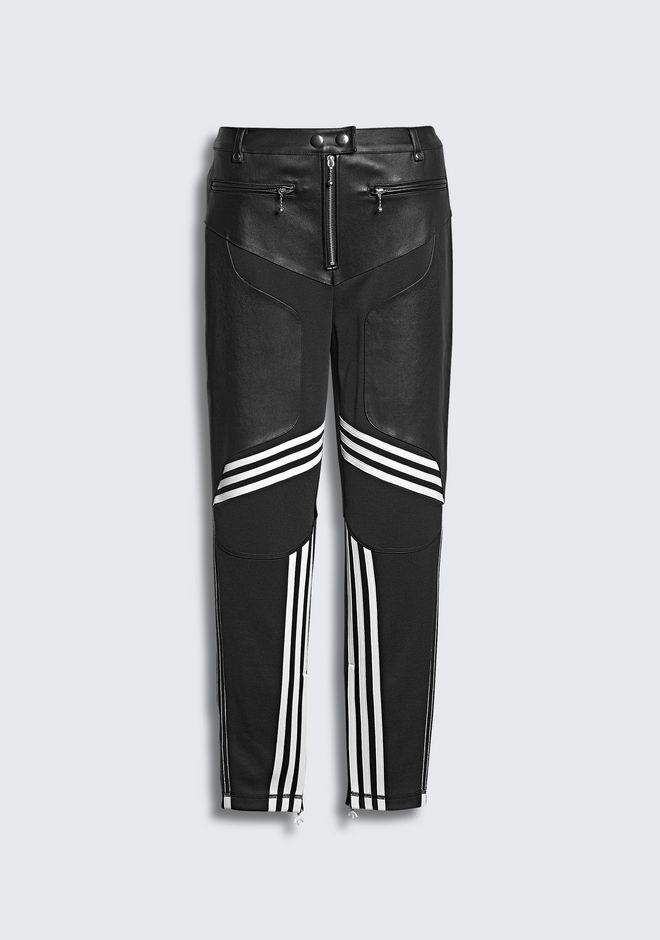 ALEXANDER WANG ADIDAS ORIGINALS BY AW LEATHER PANTS  PANTS Adult 12_n_f