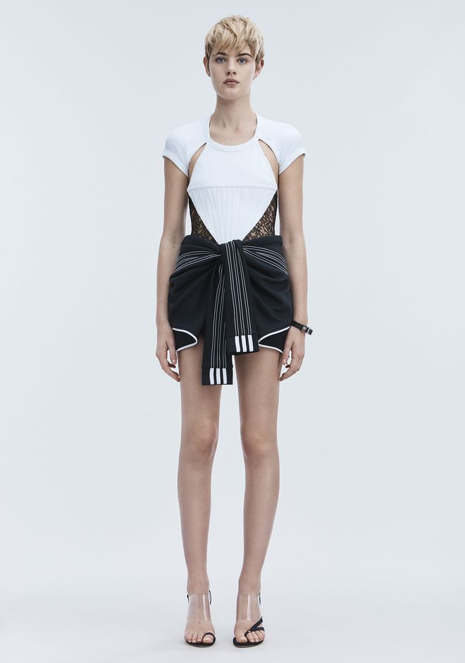 ALEXANDER WANG ADIDAS ORIGINALS BY AW SHORTS SHORTS Adult 12_n_d