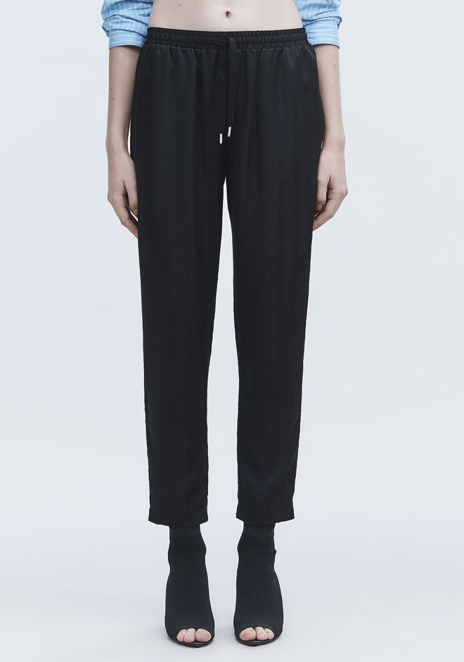 T by ALEXANDER WANG JACQUARD SILK TRACK PANTS パンツ Adult 12_n_d