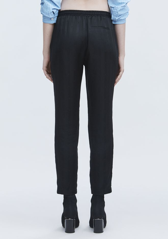 T by ALEXANDER WANG JACQUARD SILK TRACK PANTS パンツ Adult 12_n_r