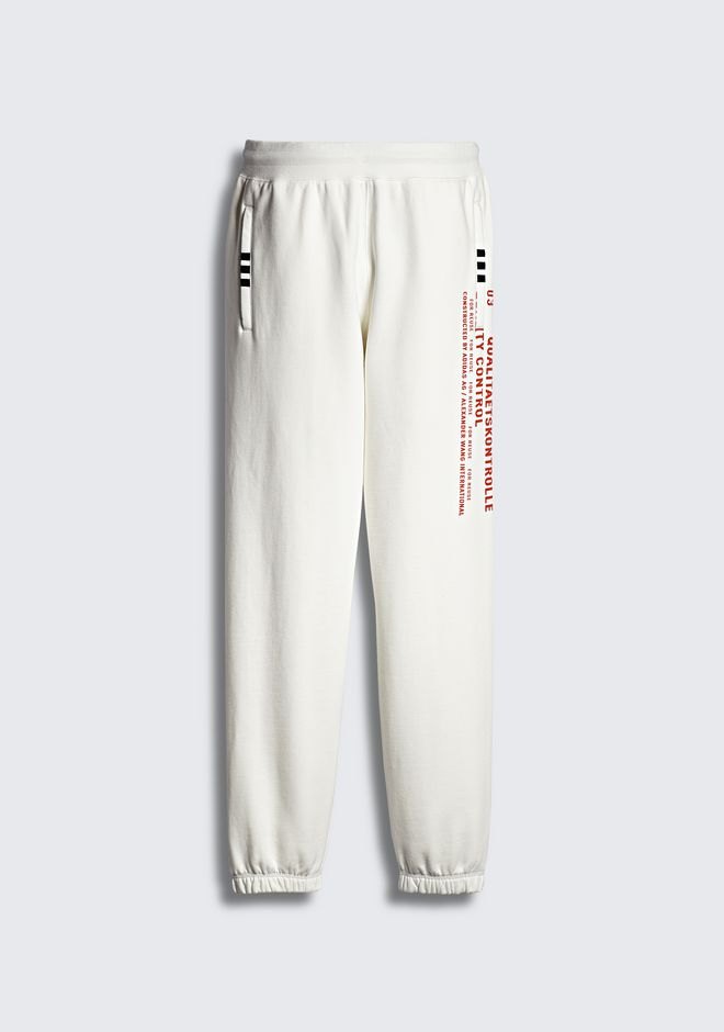 ALEXANDER WANG ADIDAS ORIGINALS BY AW GRAPHIC JOGGERS PANTS Adult 12_n_a