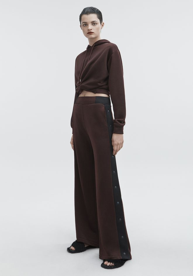 T by ALEXANDER WANG sltbbtm WIDE LEG PANTS