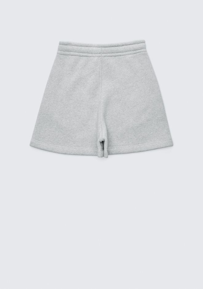 T by ALEXANDER WANG EXCLUSIVE DENSE FLEECE SHORTS SHORTS Adult 12_n_e