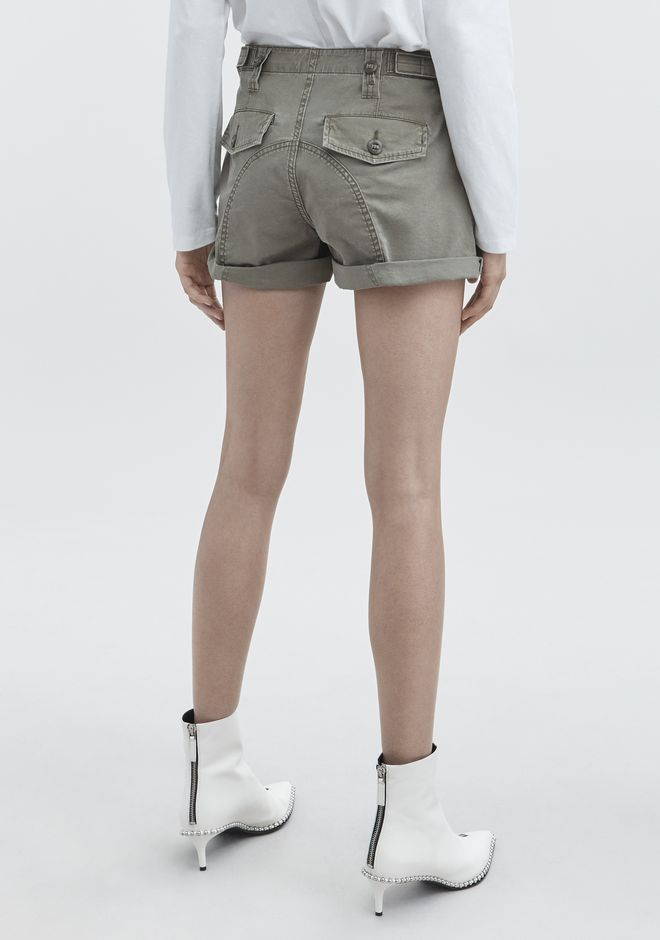 ALEXANDER WANG HIKE MIX SHORTS DENIM Adult 12_n_r