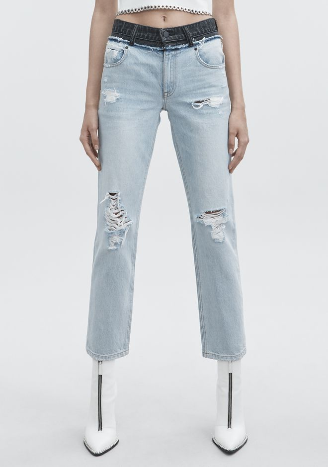 ALEXANDER WANG CULT DUO JEAN DENIM Adult 12_n_a