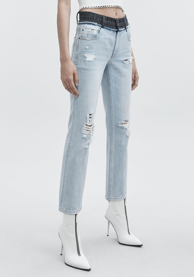 ALEXANDER WANG CULT DUO JEAN DENIM Adult 12_n_e