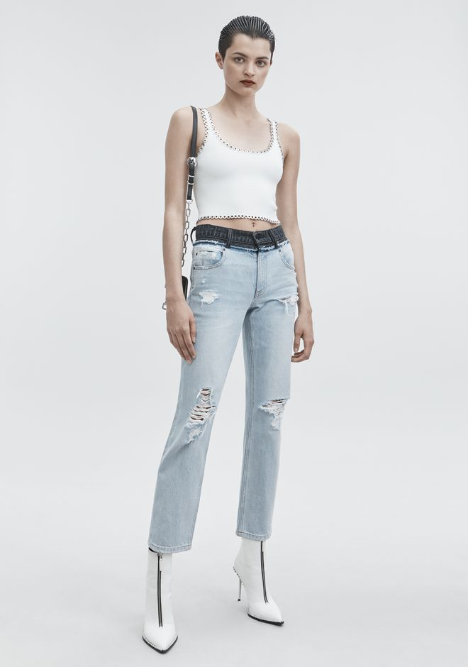 ALEXANDER WANG CULT DUO JEAN DENIM Adult 12_n_f