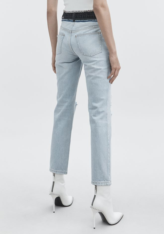 ALEXANDER WANG CULT DUO JEAN DENIM Adult 12_n_r