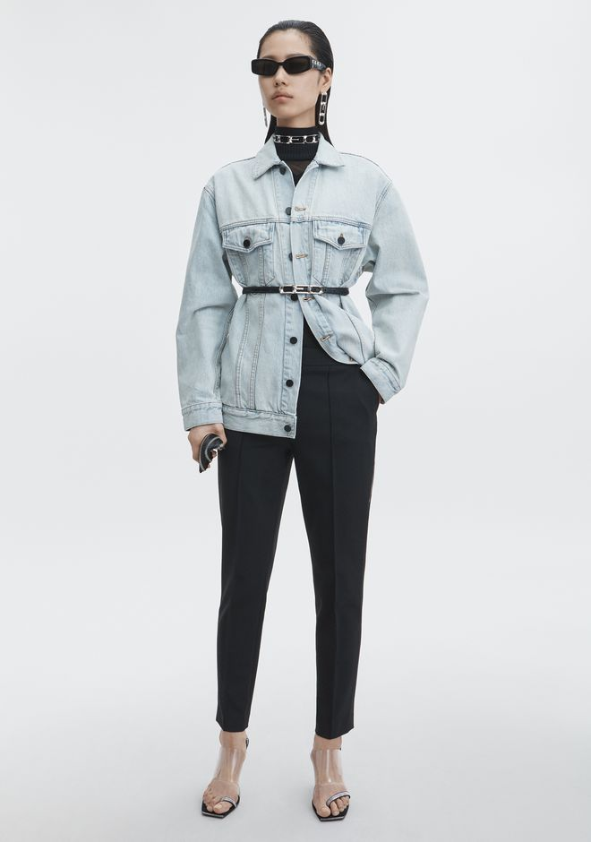 ALEXANDER WANG denim-x-aw DAZE DENIM JACKET