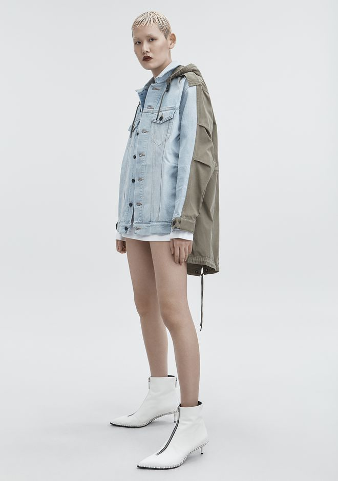 ALEXANDER WANG denim-x-aw DAZE MIX JACKET